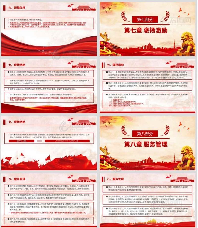 中华人民共和国主席令第六十三号《中华人民共和国退役军人保障法》课件PPT