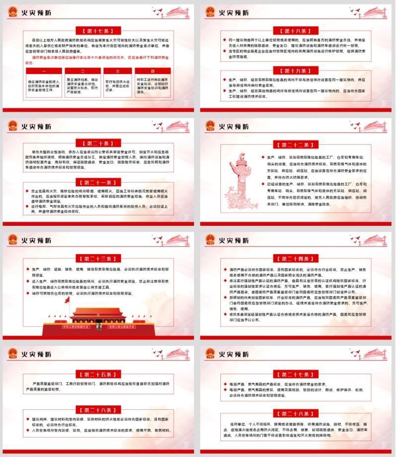 学习解读中华人民共和国消防法课件ppt