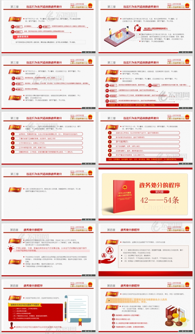 解读2020《中华人民共和国公职人员政务处分法》党课PPT及讲稿