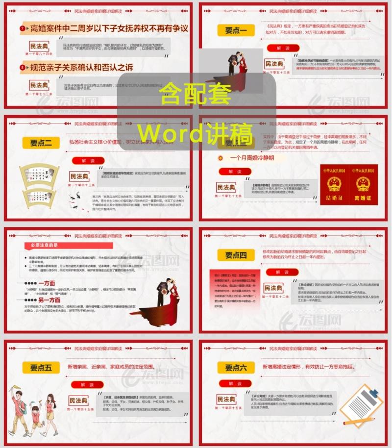 2020年中华人民共和国首部民法典婚姻编党课讲稿PPT