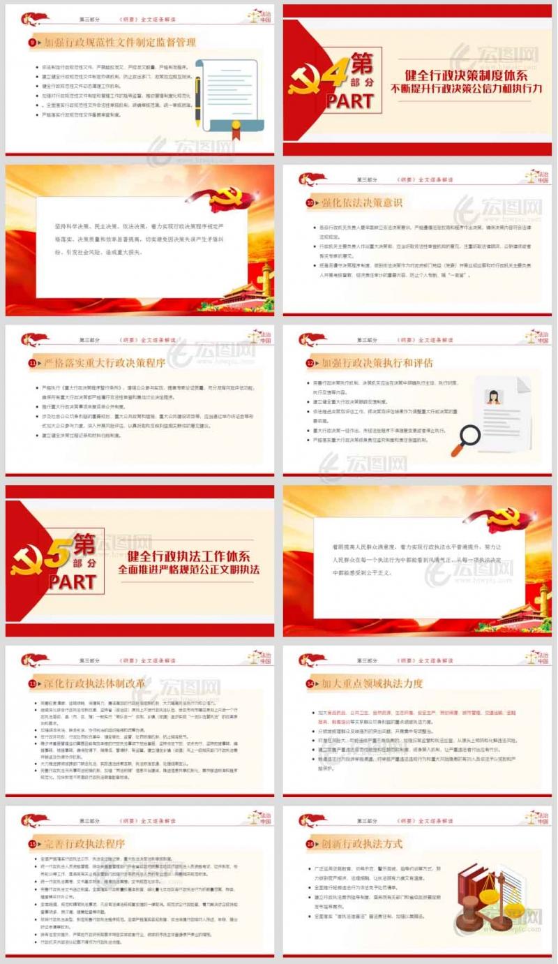 法治政府建设实施纲要(2021-2025年)党政普法社会治理法制党课学习课件ppt