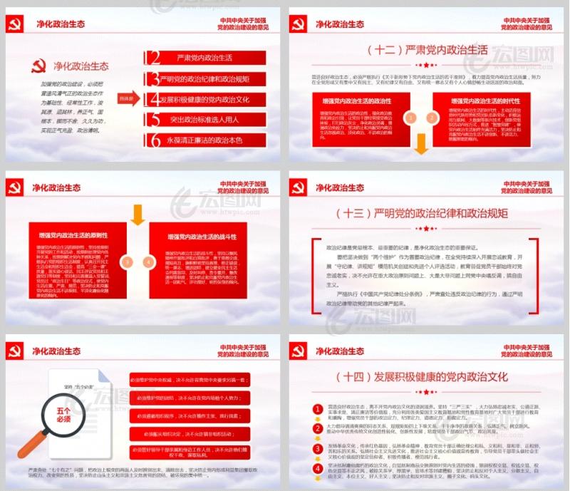 中共中央关于加强党的政治建设的意见PPT课件