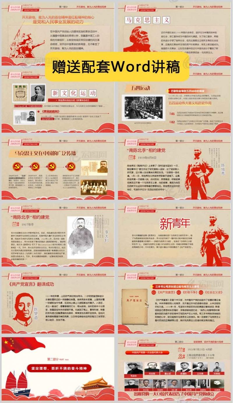 学习红船精神,在建设中国特色社会主义新时代的道路上奋勇前进PPT